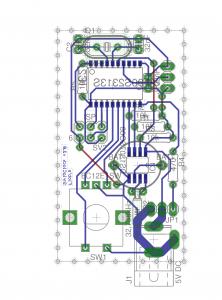 StrickClock PCB